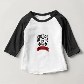 Camiseta Para Bebê nada nas pás
