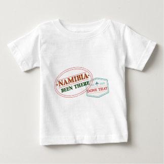 Camiseta Para Bebê Namíbia feito lá isso