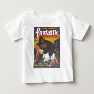 Camiseta Para Bebê Namorado do gorila