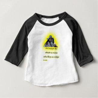 Camiseta Para Bebê Não aceite a admiração do seu cão