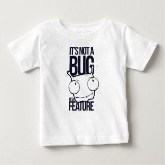 Camiseta Para Bebê não é inseto que é característica