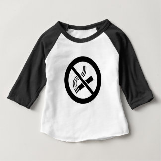 Camiseta Para Bebê Não fumadores