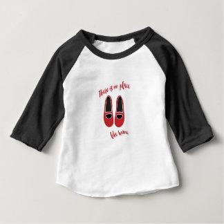 Camiseta Para Bebê Não há nenhum lugar como a casa
