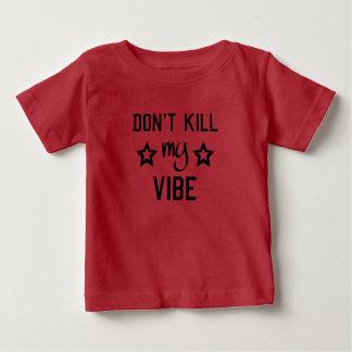 Camiseta Para Bebê Não mate meus miúdos da impressão