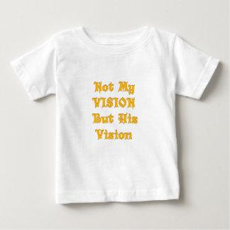 Camiseta Para Bebê Não minha visão mas sua visão