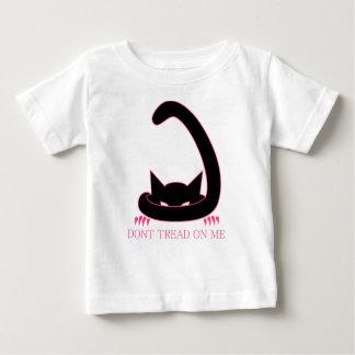 Camiseta Para Bebê NÃO PISE em MIM o gatinho