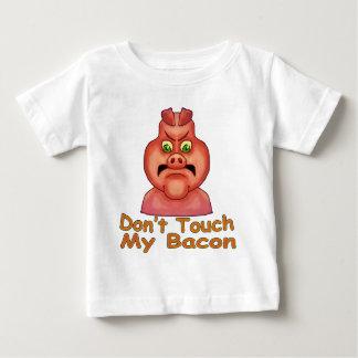 Camiseta Para Bebê Não toque em MyBacon