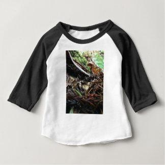 Camiseta Para Bebê Não tropece o cogumelo