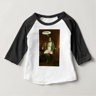 Camiseta Para Bebê Napoleon pensa sobre porcos-