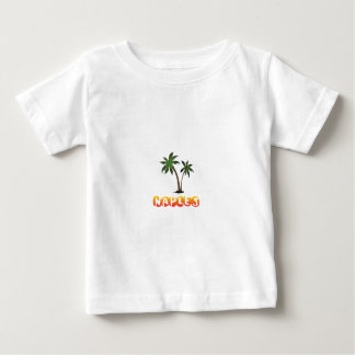 Camiseta Para Bebê Nápoles Florida.