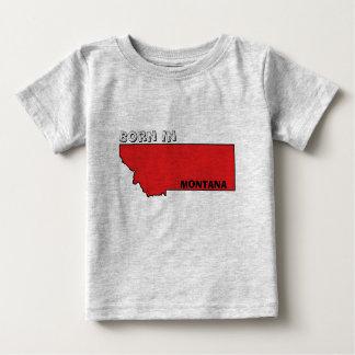 Camiseta Para Bebê Nascer… em Montana