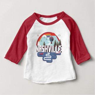Camiseta Para Bebê Nashville no design