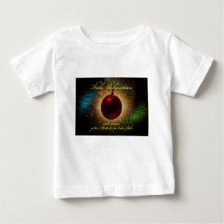 Camiseta Para Bebê Natais joviais escorregadela boa no ano novo