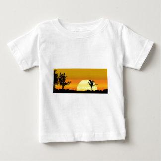 Camiseta Para Bebê Natureza