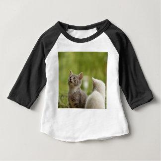 Camiseta Para Bebê Natureza animal desorganizada curiosa animal nova