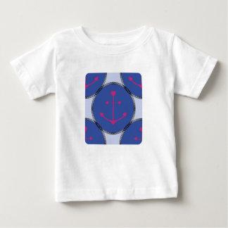 Camiseta Para Bebê Nautical_Patch-Anchor's_Toddler-Adult-Multi-Top