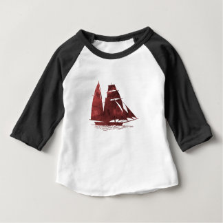 Camiseta Para Bebê Navio