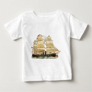 Camiseta Para Bebê Navio antigo