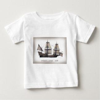 Camiseta Para Bebê Navio de Hinde do ouro 1578