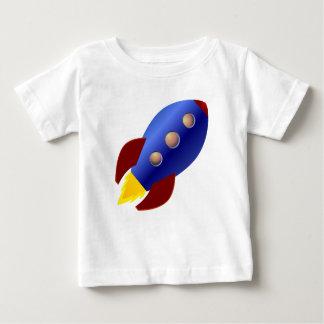 Camiseta Para Bebê Navio de Rocket