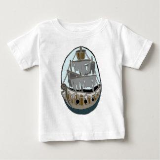 Camiseta Para Bebê Navio do fantasma