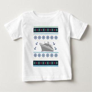 Camiseta Para Bebê Navios de cruzeiros