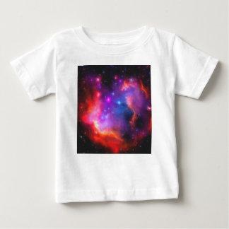 Camiseta Para Bebê Nebulosa abstrata da nuvem de Magellanic