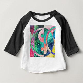 Camiseta Para Bebê Nebulosa abstrata de Yin Yang