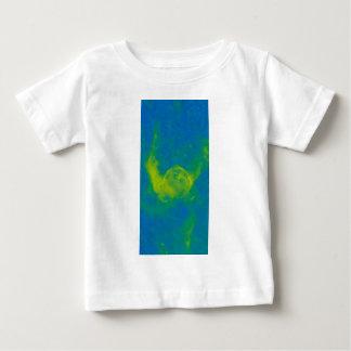 Camiseta Para Bebê Nebulosa galáctica abstrata com nuvem cósmica 11