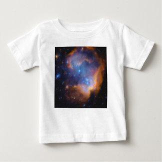 Camiseta Para Bebê nebulosa galáctica abstrata nenhuns 2