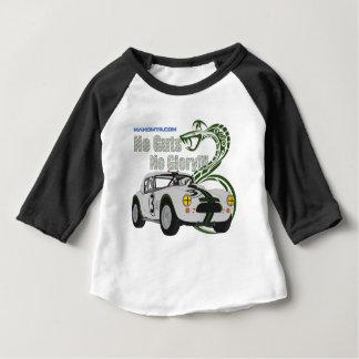 Camiseta Para Bebê Nenhuma entranhas nenhuma cobra da glória