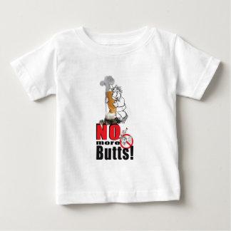 Camiseta Para Bebê NENHUNS BUMBUNS - pare de fumar