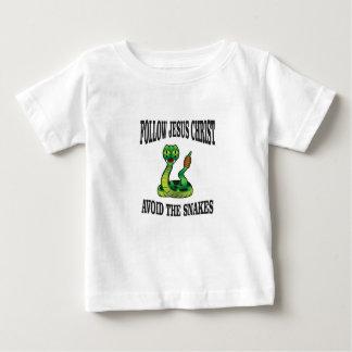 Camiseta Para Bebê Nenhuns cobras com JC