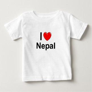 Camiseta Para Bebê Nepal