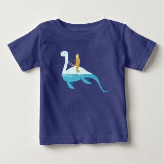 Camiseta Para Bebê nessie da equitação