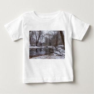 Camiseta Para Bebê Neve do inverno de Finley