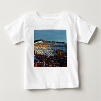 Camiseta Para Bebê neve no bryce