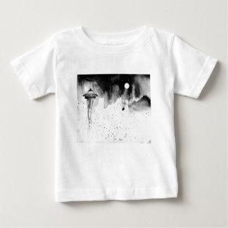 Camiseta Para Bebê Névoas de Seattle