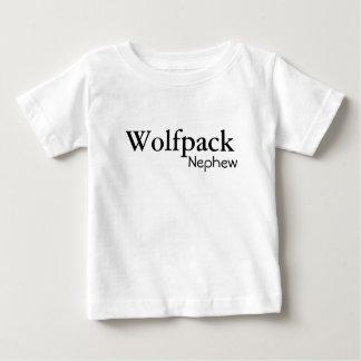 Camiseta Para Bebê newphew do wolfpack