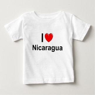 Camiseta Para Bebê Nicarágua