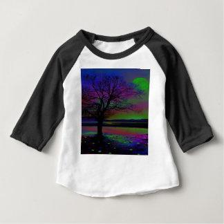 Camiseta Para Bebê Nighttime mágico