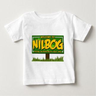Camiseta Para Bebê nilbog