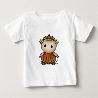 Camiseta Para Bebê Ninfa bonito da flor