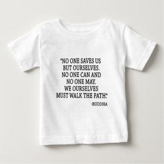 Camiseta Para Bebê Ninguém salvar nos mas nós
