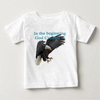 Camiseta Para Bebê No começo
