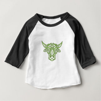 Camiseta Para Bebê Nó do céltico de Bull do Taurus