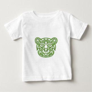 Camiseta Para Bebê Nó do céltico do urso