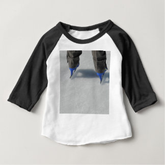 Camiseta Para Bebê no gelo