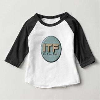 Camiseta Para Bebê No logotipo de The Field