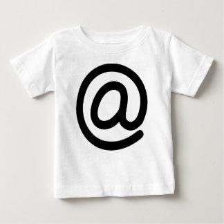 Camiseta Para Bebê No símbolo
